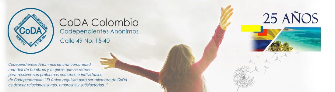 Coda Colombia Codependientes Anónimos. Codependencia. Dependencia emocional.