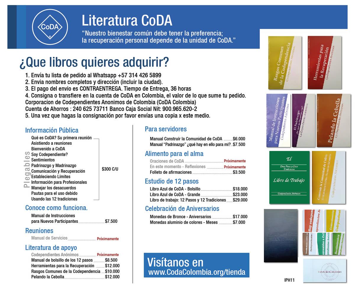 Literatura CoDA