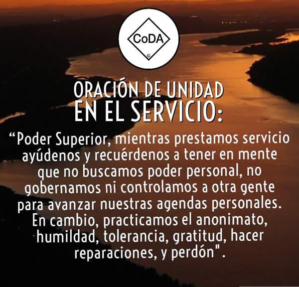 Oracion de unidad en el servicio